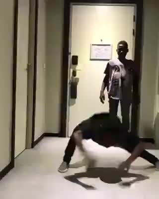 Watch and share Kid Does An Impressive Full Scorpion, But The Ending Is Actually Crazier. (reddit) GIFs on Gfycat
