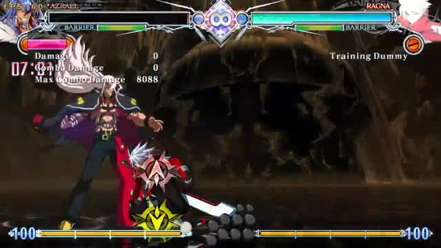 Watch and share BBCF: Azrael FATALx3 GIFs by snuffychris605 on Gfycat