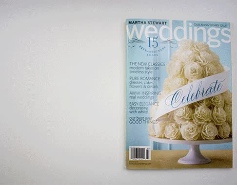 Watch Martha Stewart Weddings Magazine GIF on Gfycat. Discover more related GIFs on Gfycat