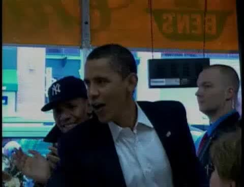 Watch and share Barack Obama Drops In On Ben's Chili Bowl In D.C. GIFs on Gfycat