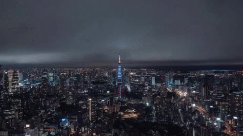 Watch and share Tokyo Time Lapse GIFs on Gfycat