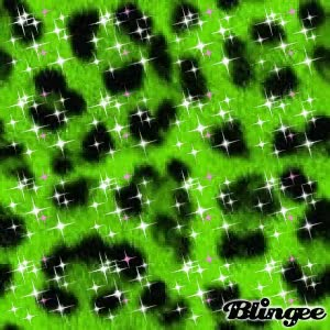 Watch and share Sparkly Green Leopard Print GIFs on Gfycat
