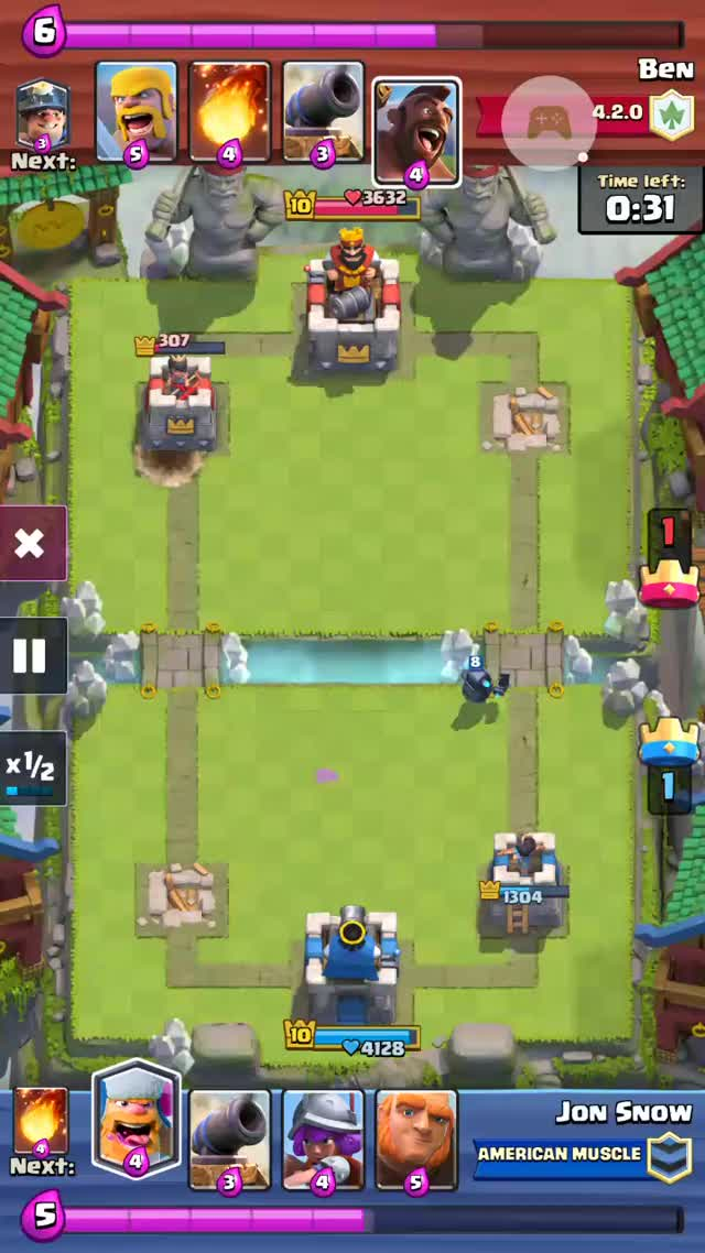 Watch and share Clashroyale GIFs and Lumberjack GIFs on Gfycat