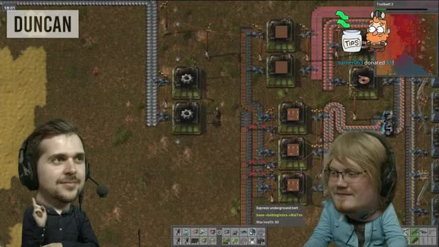 BOBBLEHEAD LEWIS - Modded Factorio [11] w/ Duncan & Lewis - 1st August 2016