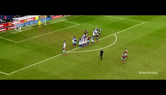Dimitri Payet - ALL FREEKICK GOALS - English Commentary 2016 HD