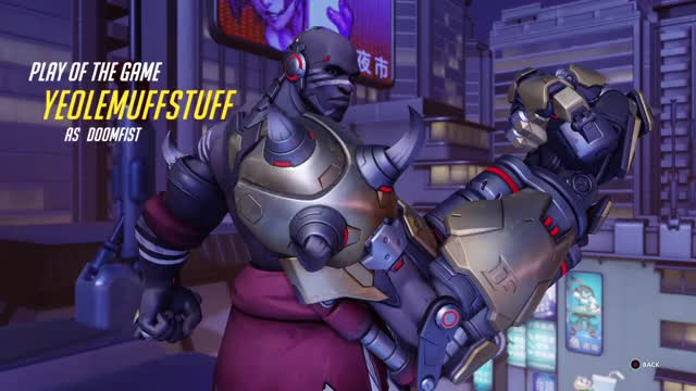 Watch 5 second Meteor Strike GIF by @tufstuff on Gfycat. Discover more overwatch, doomfist, overwatch, potg GIFs on Gfycat