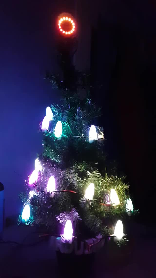 Watch Arduino christmas tree using Neopixel GIF on Gfycat. Discover more Kjelloco GIFs on Gfycat
