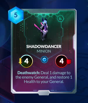 duelyst, PRISMATIC SHADOWDANCER MORE COLOR GIFs