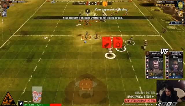 Blood Bowl 2: Legendary Edition Beta with Crendor (Slann/Kislev vs Amazons) GIFs