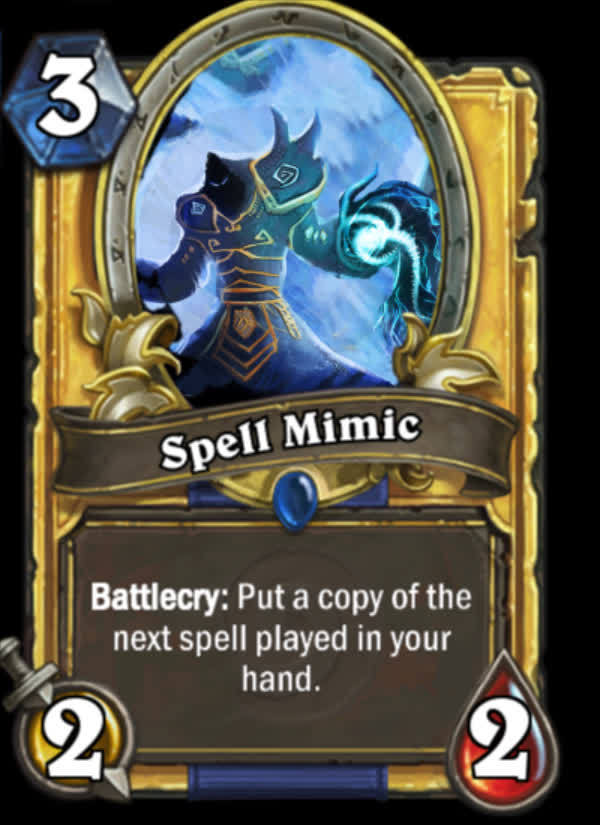 customhearthstone, Spell Mimic GIFs
