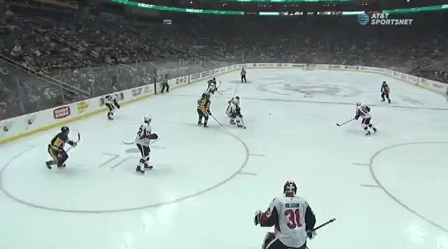 Watch Teddy Bluegers first NHL goal! GIF by Beep Boop (@hockeyrobotthing) on Gfycat. Discover more hockey GIFs on Gfycat