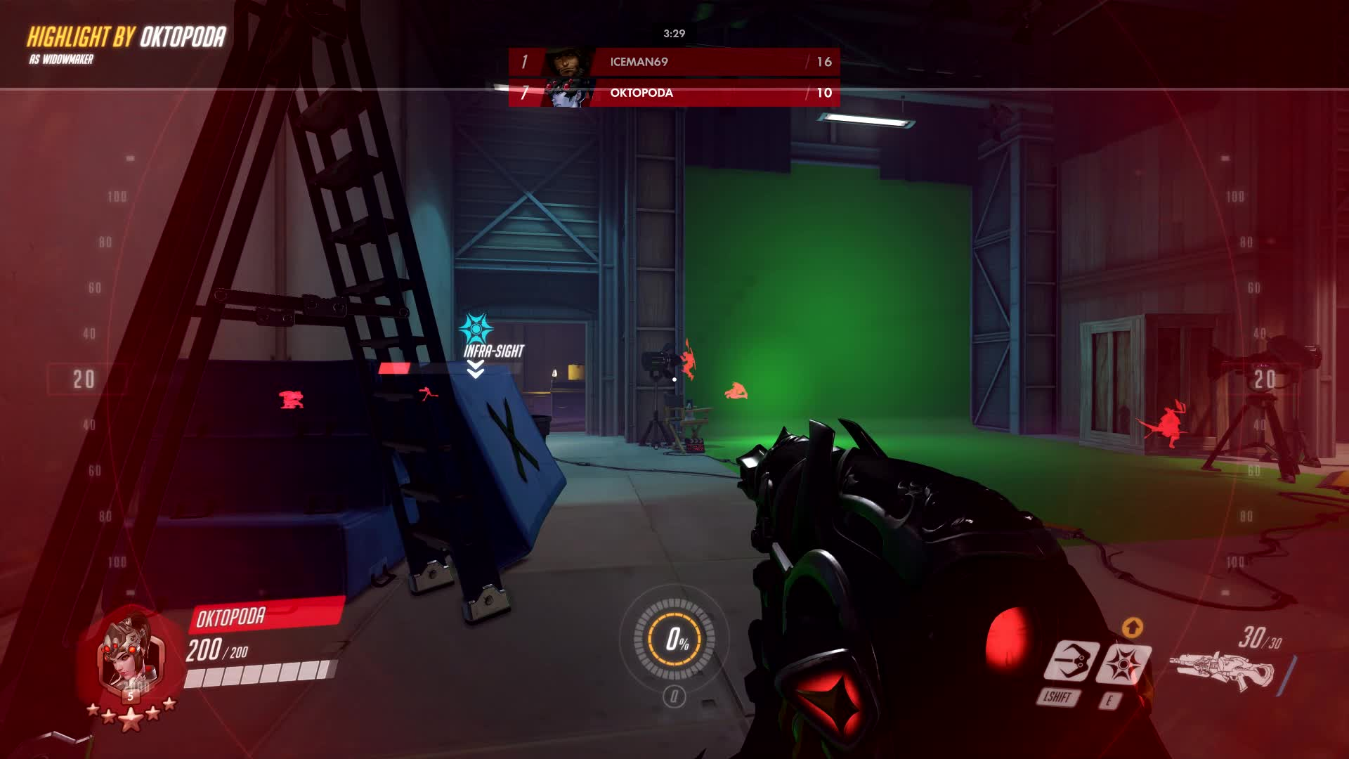 overwatch, widowmaker, widow is sometimes just like that, y'know GIFs