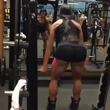 Watch Gracyanne Barbosa Stiff Deadlifts 4x15 GIF on Gfycat. Discover more related GIFs on Gfycat