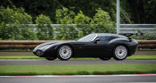 Watch and share 2015 ZAGATO Mostro Is Custom Carbon Supercar Aimed At GT3 Drivers GIFs on Gfycat