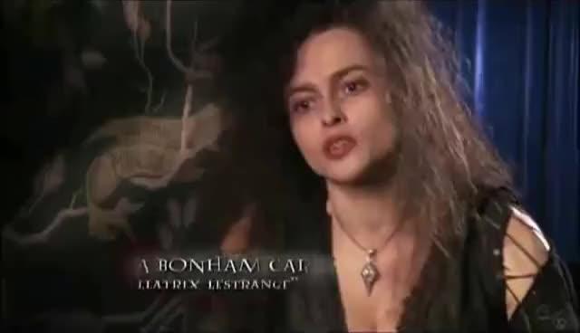 Watch and share Ultimate Edition: Helena Bonham Carter  // Character Of Bellatrix Lestrange GIFs on Gfycat