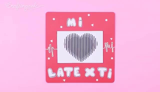 Watch and share DIY HEART BEAT CARD GIFs on Gfycat