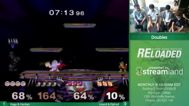 Watch Super Gonq Battles #RELOAD-Synk | Kage & Vanitas Vs. Lizard & Dylrod (SSBM Doubles) GIF by @bigberts on Gfycat. Discover more games, twitch GIFs on Gfycat