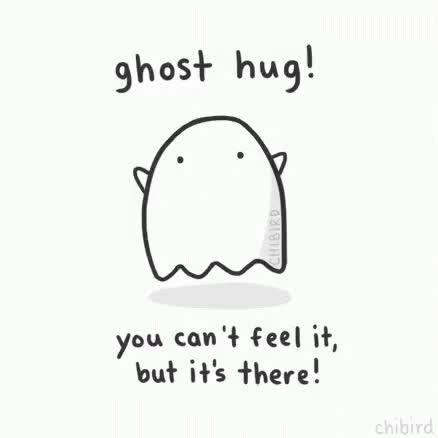 Watch and share Hug Ghost GIFs on Gfycat