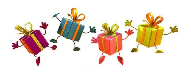 Watch and share Подарок GIFs on Gfycat