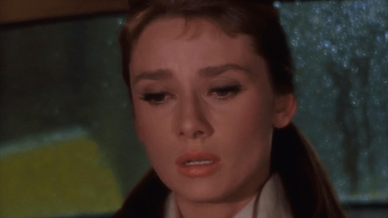 Audrey Hepburn, breakfast at tiffany's, crying, heartbroken, holly golightly, sad, Holly Golightly Crying GIFs