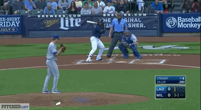 Watch Brock Stewart's first MLB strikeout (reddit) GIF by @thedongiggity on Gfycat. Discover more fantasybaseball GIFs on Gfycat