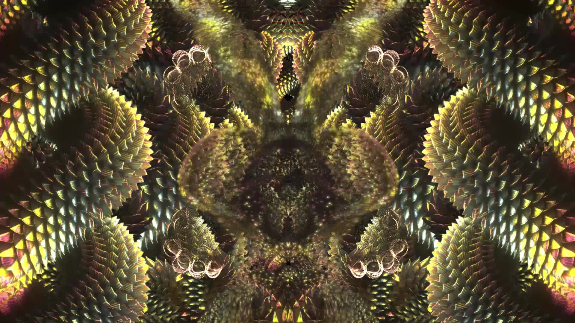 dmt trip, dmt visuals, psychedelic, psychedelic trip visuals, psychedelic visuals, psychedelics, symmetric vision, Whats with these bugs? (DMT) GIFs