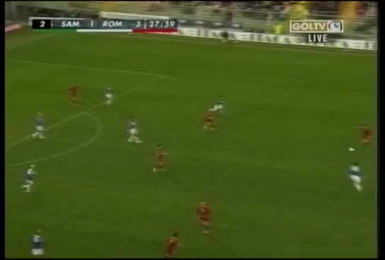 Watch and share Sampdoria Vs Roma - Totti Goal GIFs on Gfycat
