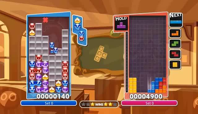 Watch and share [ENG / Expert Play] Puyo Puyo Tetris Vs Badness_pepo (Puyo Vs Tetris) GIFs on Gfycat