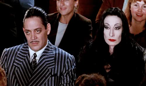 Watch and share Anjelica Huston GIFs and Anonymous GIFs on Gfycat