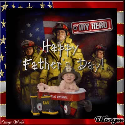 Watch and share My Dad The Fireman, Happy Fathers Day GIFs on Gfycat