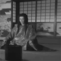Watch and share The Samurai Sits Cross Legged, Facing His Master, And Bows T GIFs on Gfycat