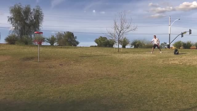 Watch Round Four 2019 Memorial Championship - Simon Lizotte hole 17 putt GIF by Benn Wineka UWDG (@bennwineka) on Gfycat. Discover more Sports, dgpt, disc golf, disc golf pro tour GIFs on Gfycat