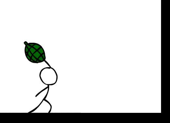 Watch and share Stickman Animation Photo: Stickman Stickmanvswall2.gif GIFs on Gfycat
