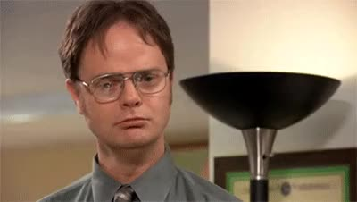 Watch and share Dwight Schrute GIFs and Rainn Wilson GIFs on Gfycat