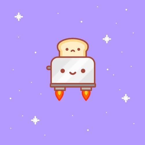Watch and share New Trending GIF On . Space Kawaii Bread Toast. Follow Me CooliPhone6Case On Twitter Facebook Google Instagram LinkedIn Blogger Tumblr Youtube GIFs on Gfycat