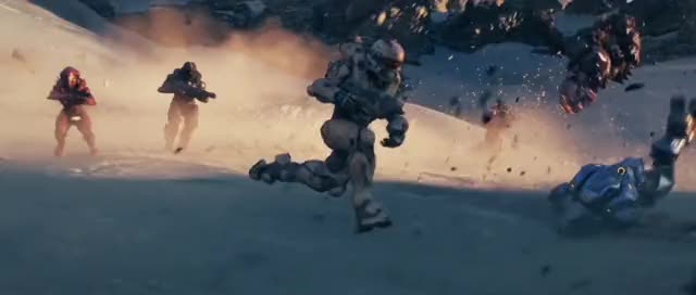 Watch Halo5 Opening Cinematic - 2 GIF by Jasveer S (@jasveersin) on Gfycat. Discover more related GIFs on Gfycat