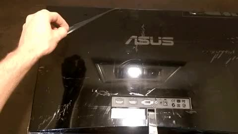 Peeling off the plastic on new electronics : gifs GIFs