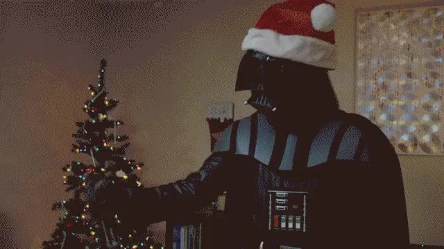 Watch and share Darth Santa (reddit) GIFs on Gfycat