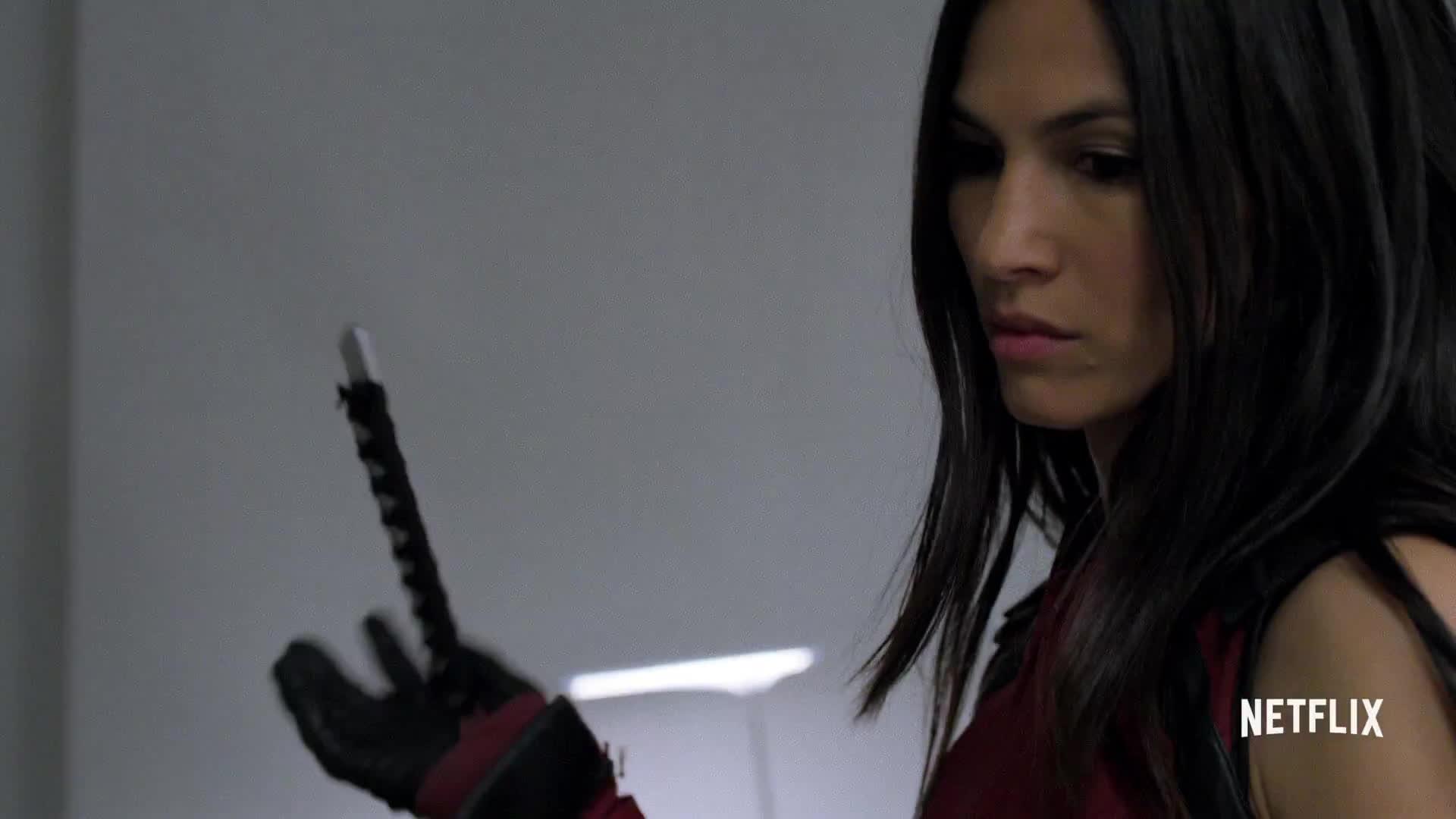 defenders, elektra, netflix, netflix original series, trailer, Marvel's The Defenders | Official Trailer | Netflix [HD] GIFs