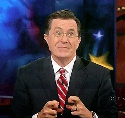fingers crossed, stephen colbert,  GIFs