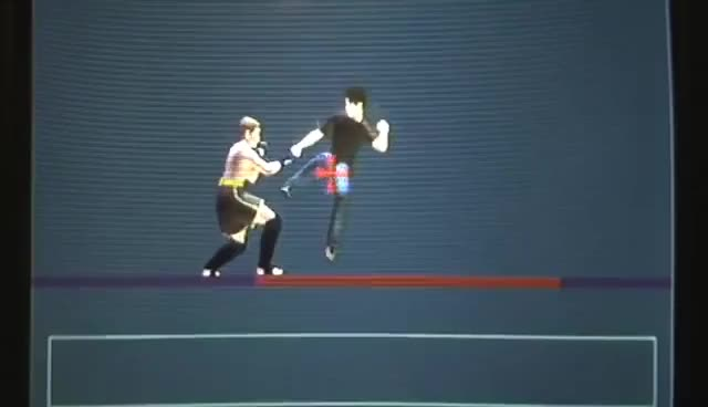Watch knee GIF on Gfycat. Discover more cool, fighter, kachukeland, maker, moves, play, ps2, station GIFs on Gfycat
