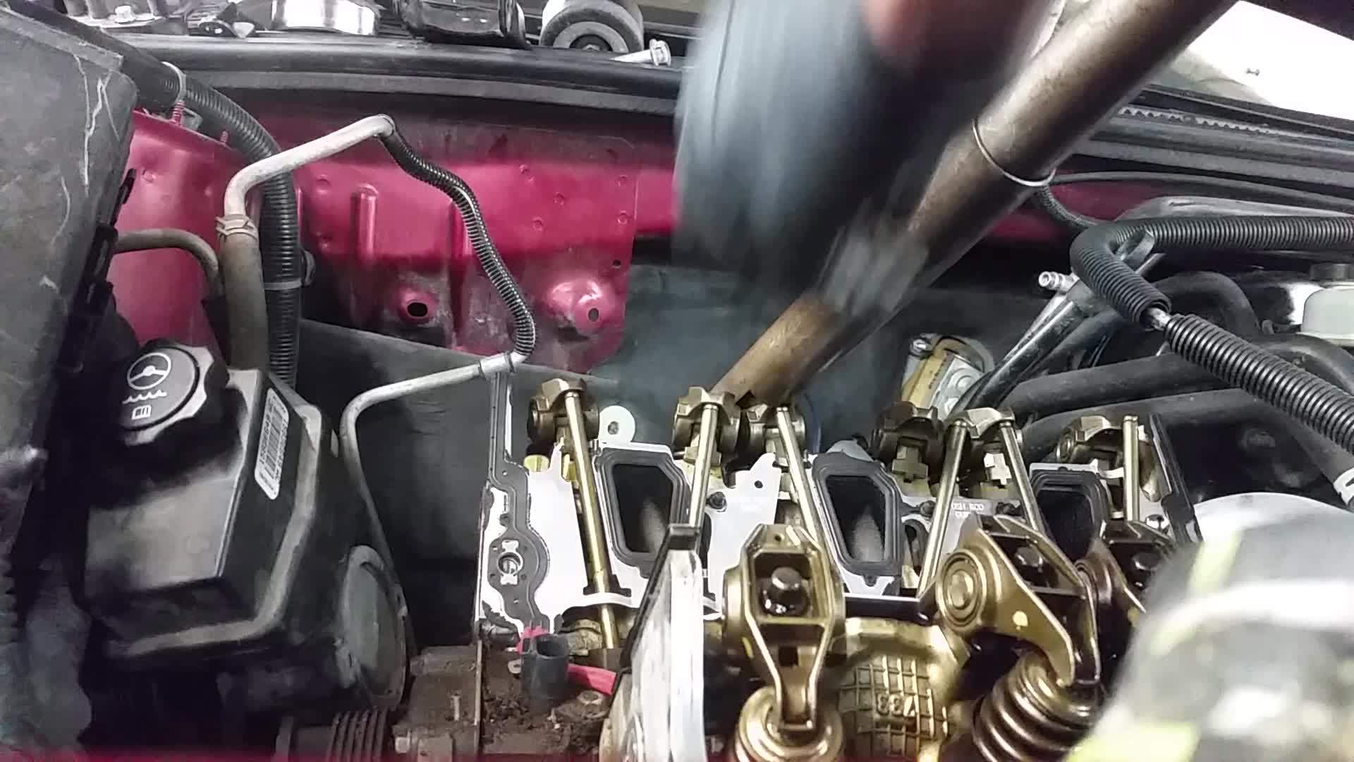 Justrolledintotheshop, justrolledintotheshop, Was doing an intake on a GM 3.5L and realized that tool to help remove the pushrods was at home. So I made a new one! (reddit) GIFs