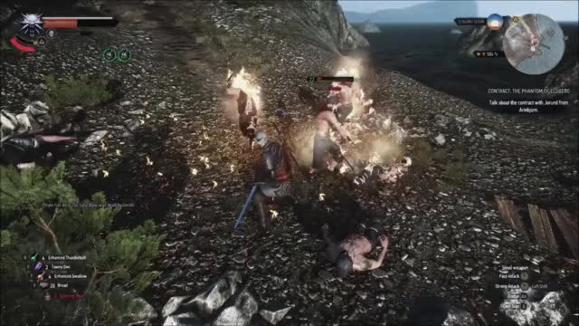 Watch Geralt's a lot more powerful than I thought GIF on Gfycat. Discover more GamePhysics, gamephysics, witcher GIFs on Gfycat