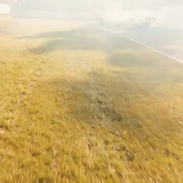 Drone footage of cars drifting looks like something out of a video game (@blacksheepfpv) GIFs
