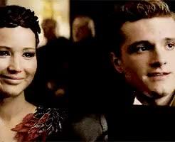 Watch and share Peeta And Katniss GIFs and Jennifer Lawrence GIFs on Gfycat