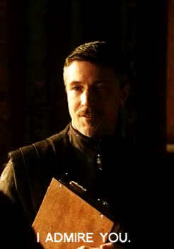 Watch and share Game Of Thrones GIFs and Aiden Gillen GIFs on Gfycat