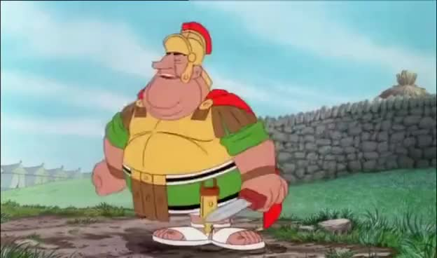 Watch and share Asterix In Britain GIFs on Gfycat