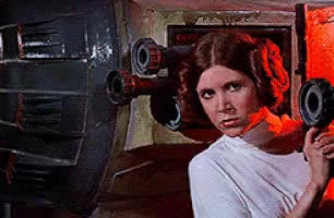 Watch this carrie fisher GIF on Gfycat. Discover more carrie fisher, gun, princess leia GIFs on Gfycat