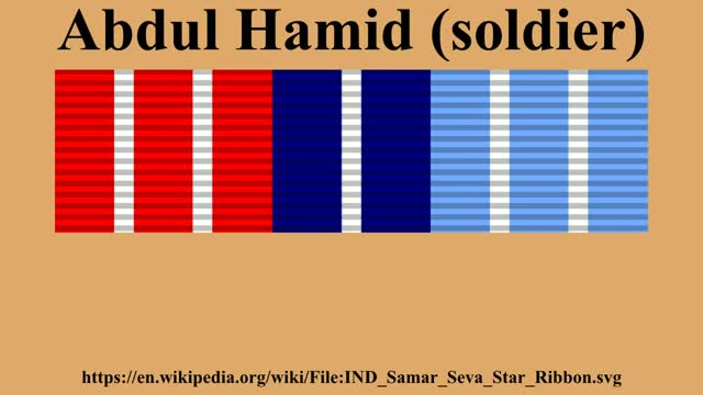 Watch Abdul Hamid (soldier) GIF on Gfycat. Discover more Abdul Hamid (soldier), Army, Early life, Legacy, Military awards GIFs on Gfycat
