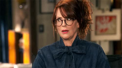 Watch and share Megan Mullally GIFs by Reactions on Gfycat